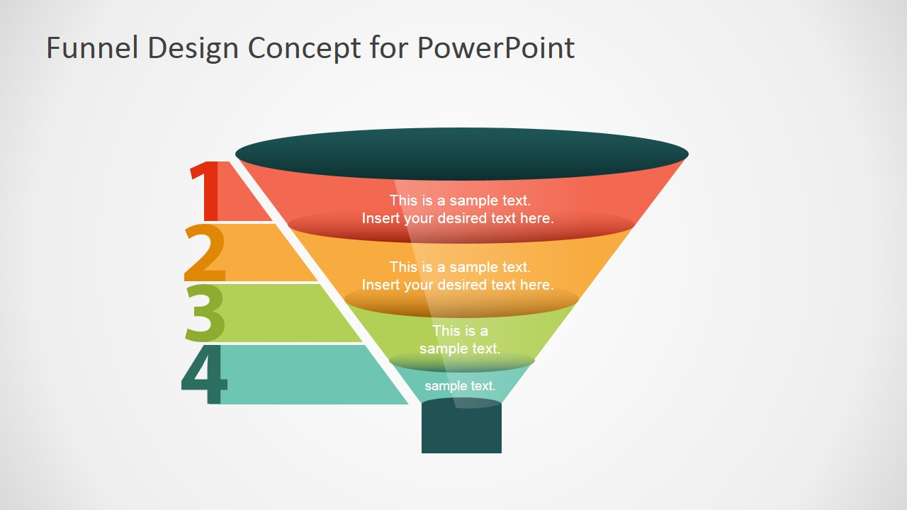 free funnel slide designs for powerpoint