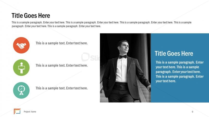 KPI Reporting PowerPoint Template