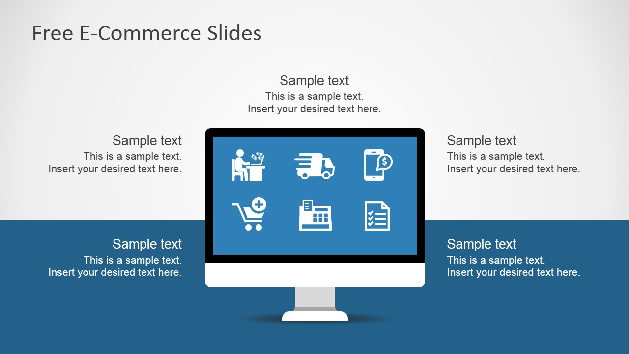 free e-commerce slides for powerpoint