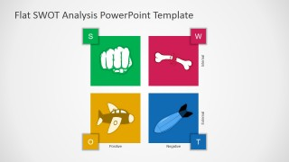 PowerPoint Template SWOT Analysis