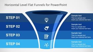 free flat funnel powerpoint template - slidemodel, Modern powerpoint