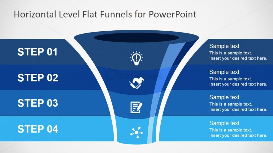Create outstanding Funnel Diagrams with this free PowerPoint template.