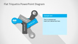 Professional Free PowerPoint Three Steps Digram