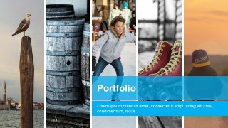 Free Modern Business Portfolio PowerPoint Templates