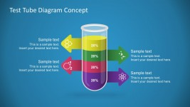 Free Test Tube Diagram PowerPoint Concept