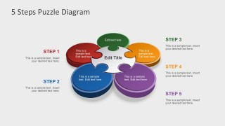 Free Editable Steps Diagrams For PowerPoint Presentations
