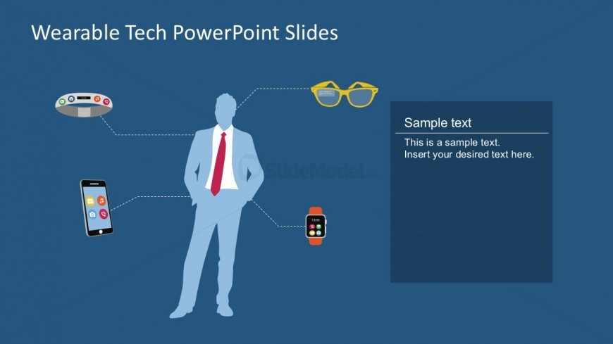 Free wearable technology vector powerpoint template slidemodel free download powerpoint tech vectors toneelgroepblik Gallery