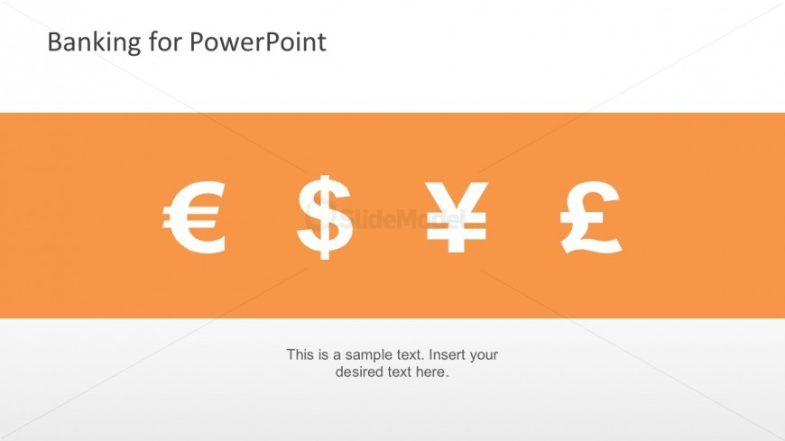 Editable PowerPoint Currency Icons For Free