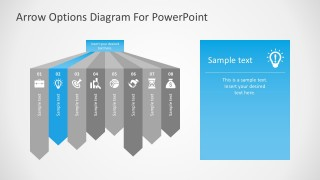 Free Editable Options PowerPoint Infographics