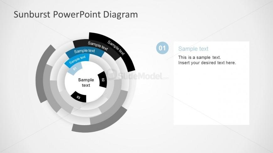 Creative Sunburst Template Presentation Slides For Free