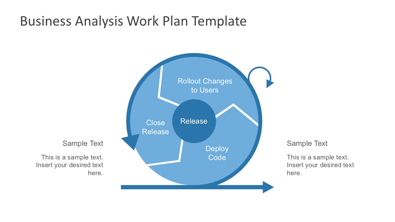 Free business analysis work plan template analysis templates agile development powerpoint workflow agile business process visuals for powerpoint wajeb Gallery