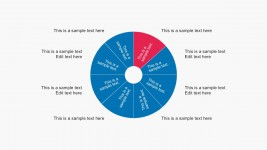 Wheel Diagrams Free PowerPoint With 8 Steps