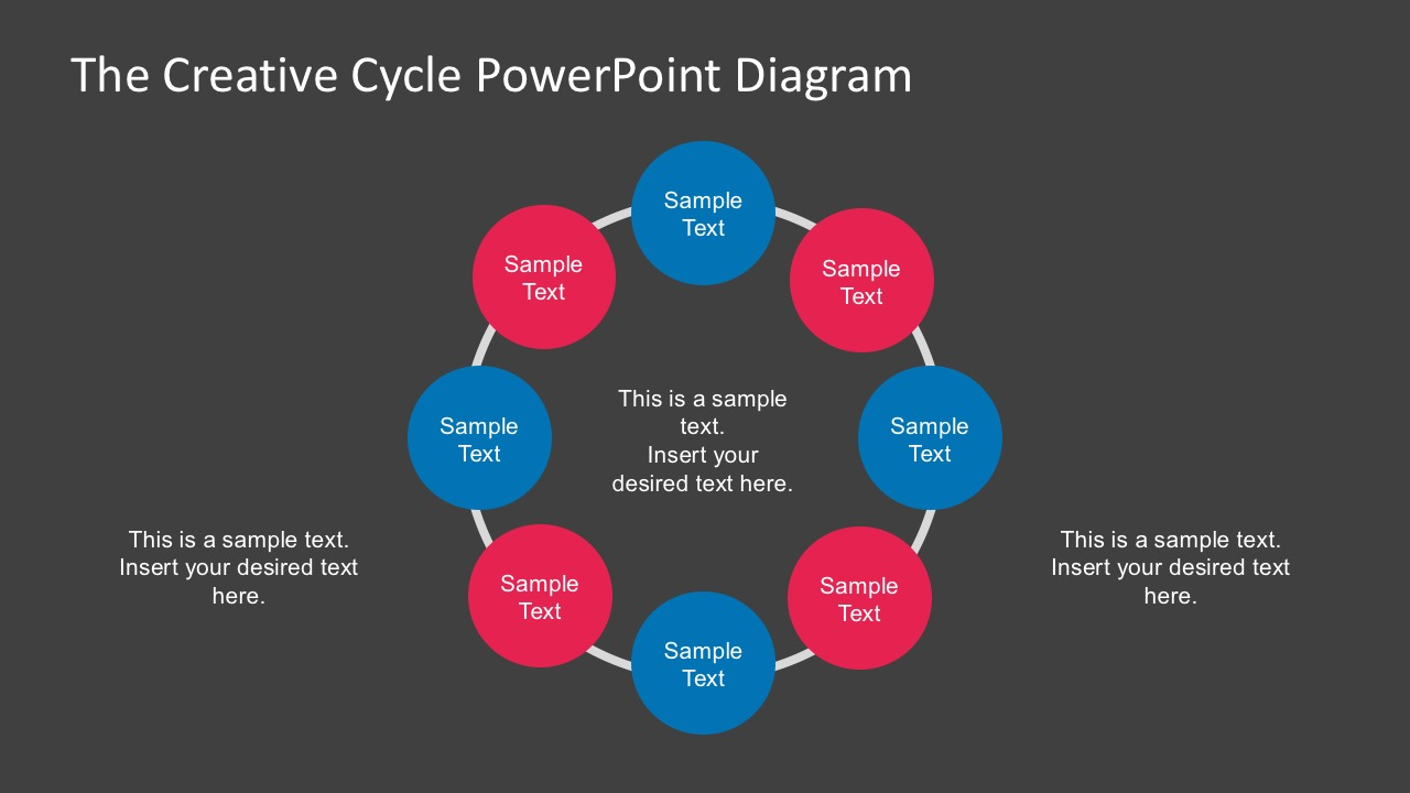 Free Download Circular Steps Diagrams Slides