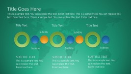 Free Circle Timeline PowerPoint Graphics Slides