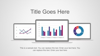 Data Graphs Statistics PowerPoint Vectors for Free Download