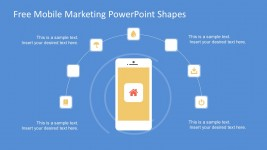 Free Smartphone Mobile Marketing PowerPoint Graphics