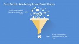 Free Mobile Marketing Sales Funnel Template Slides