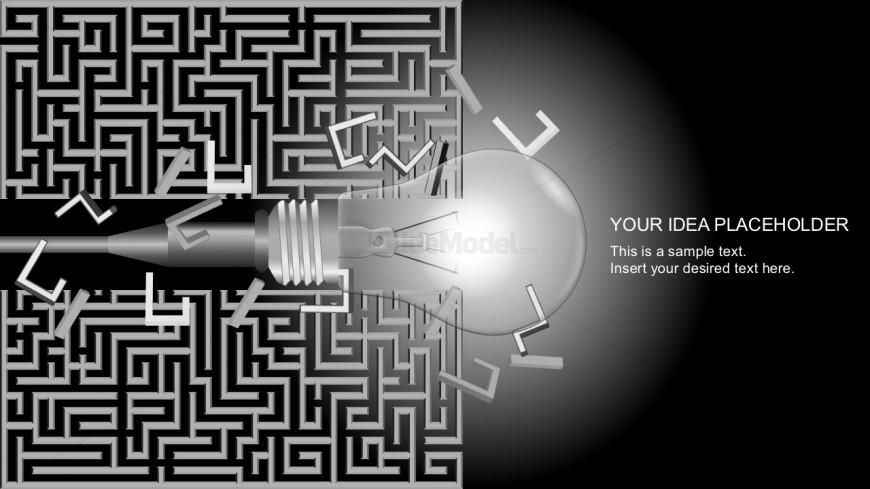 Free Lightbulb Metaphor For Business Presentations