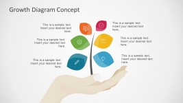 Free Tree Concept Diagram for PowerPoint