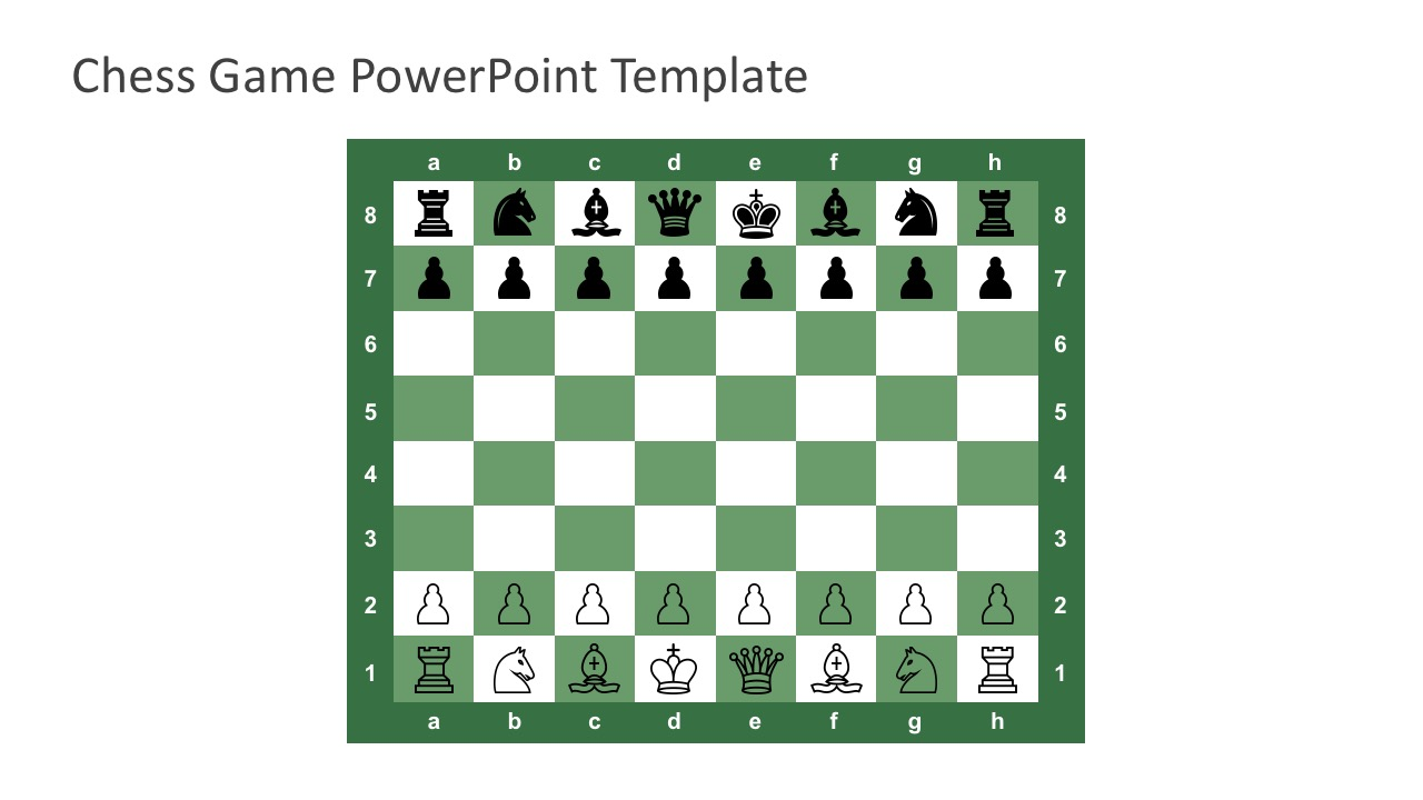 Free Chess Board Game for PowerPoint