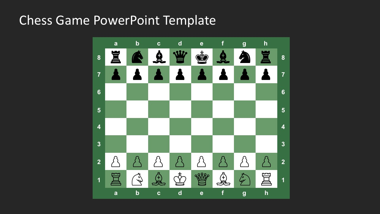Free chess game powerpoint template download chess game powerpoint template for free free editable chess board sets template toneelgroepblik Choice Image