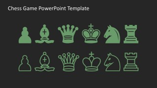 Chess Pieces Vectors Free PowerPoint Presentations