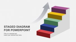 4 Stages Diagram PowerPoint Template