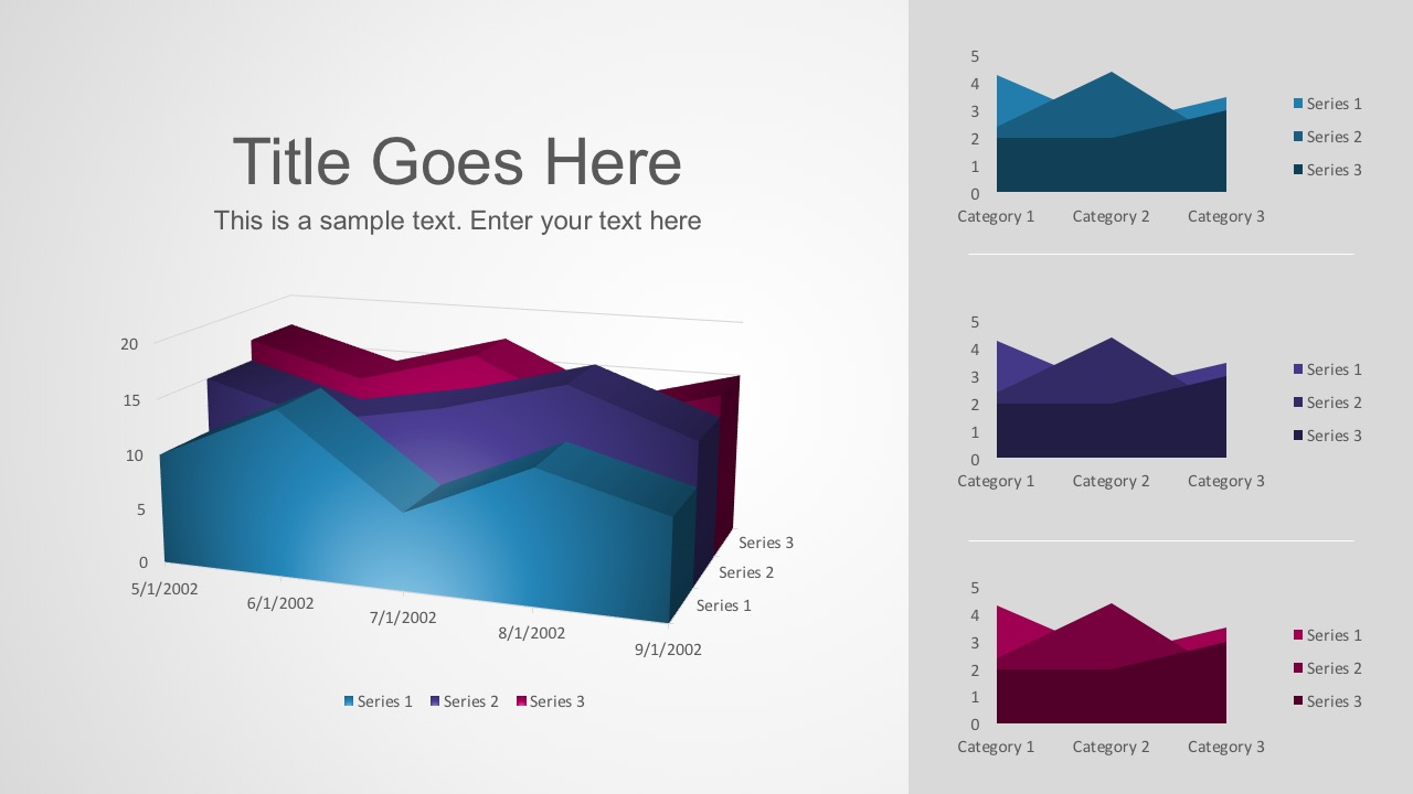 free smart chart powerpoint templates, Modern powerpoint