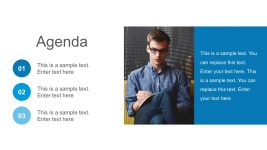 Free Agenda Corporate Template PowerPoint