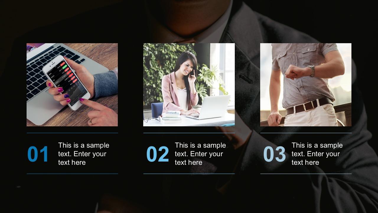 Free Image Agenda Slides For Business