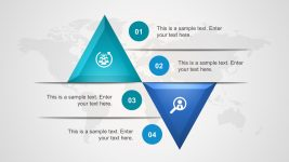 3D Inverted Triangle Process Diagrams