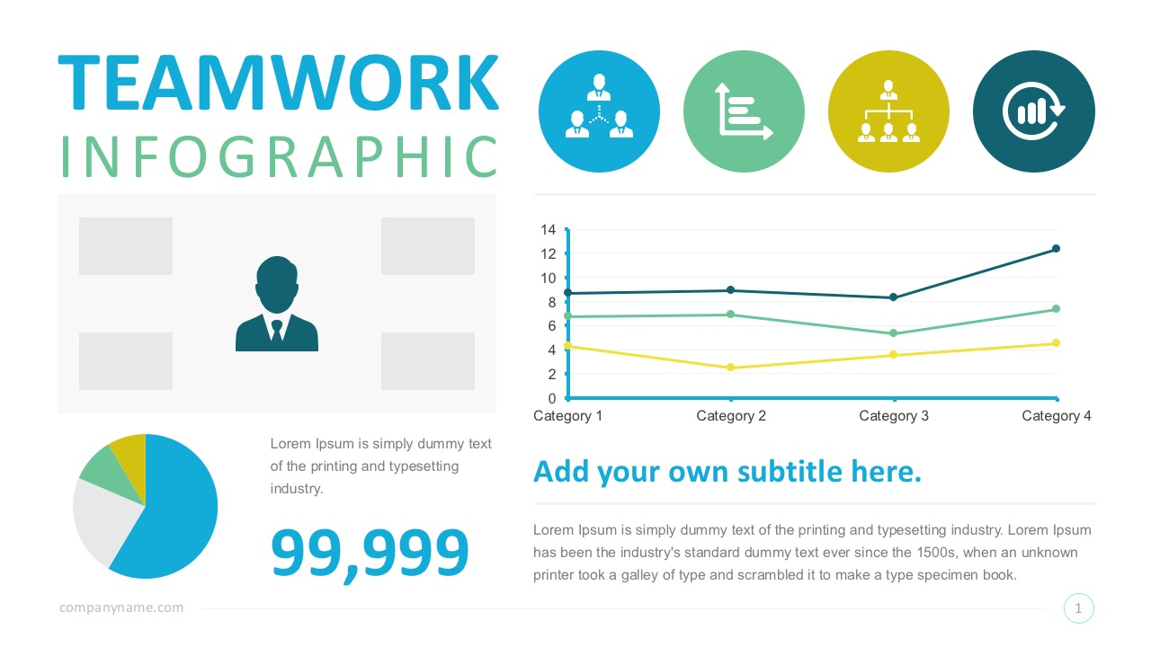 Free Teamwork Infographics PowerPoint Slides