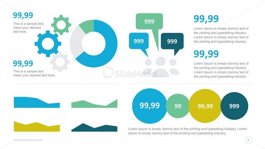 Free Data Charts Infographics Presentation Slides