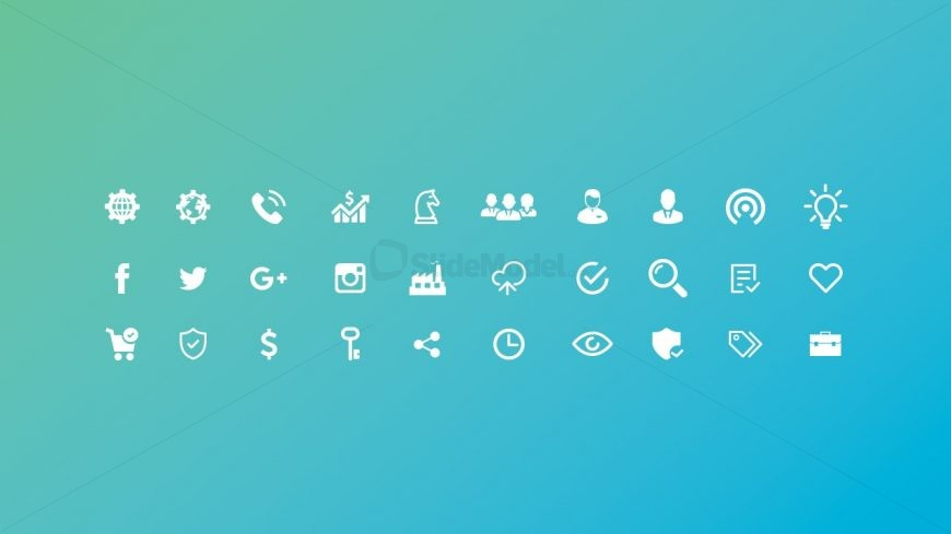 Free Useful Icons Editable in PowerPoint