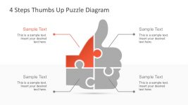 Free 4 Steps PowerPoint Diagram Templates