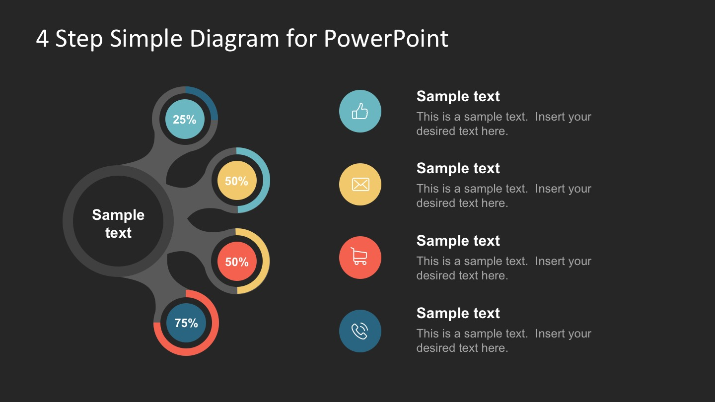FF0121-01-4-step-simple-diagram-for-powerpoint -16x9-2