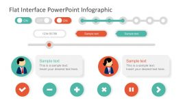Flat Interface PowerPoint Template