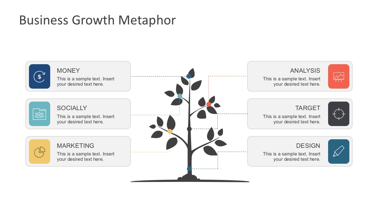 Free Tree Growth Vector Diagram