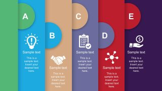 Free Process Flow Template with PowerPoint Icons