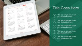 Checklist Template Layout for PowerPoint