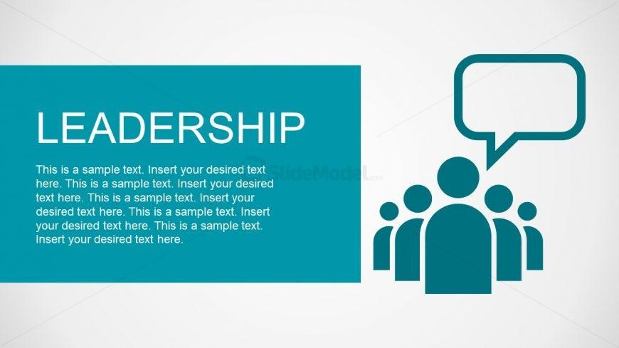 Follow Leadership Illustration PPT