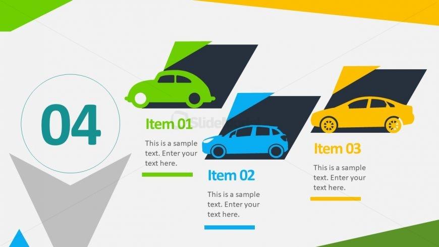 Editable Car Clipart Color Background