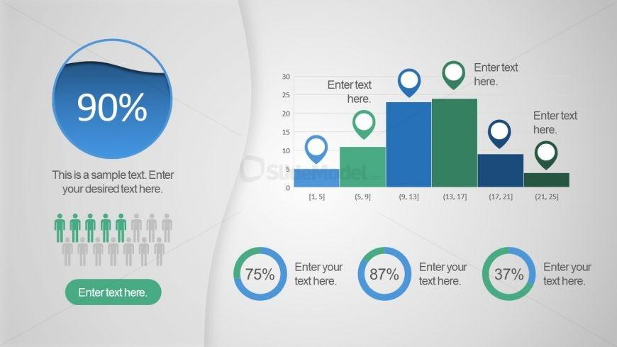 Data Driven PowerPoint Bar Chart