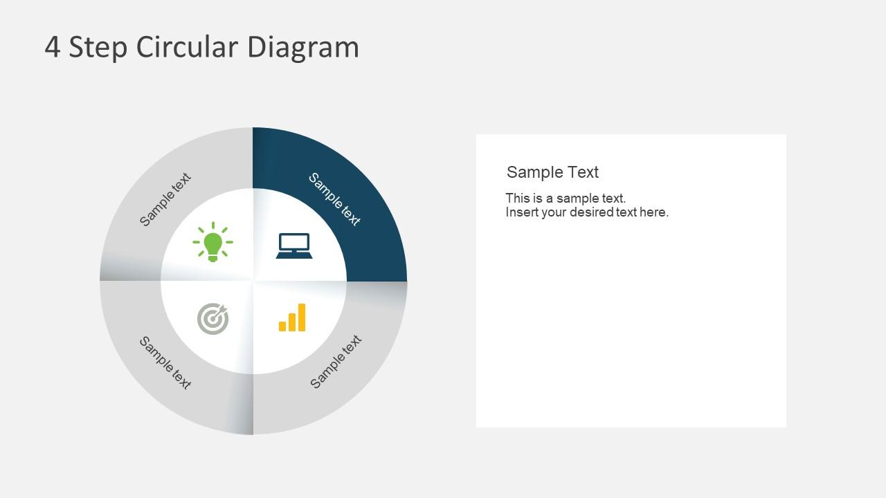 Simple Cyclic PowerPoint Desktop Icon