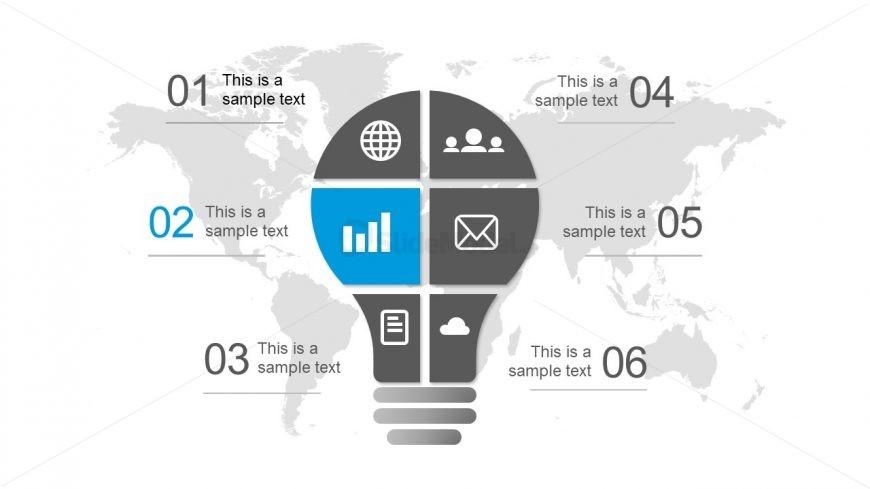 Simple Bulb Shape Diagram