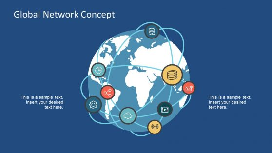 Web of Networks with Infographics