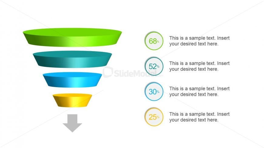 3D Design of Funnel with Animation