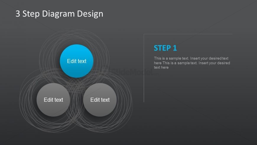 Triangle of Circular PowerPoint Shapes