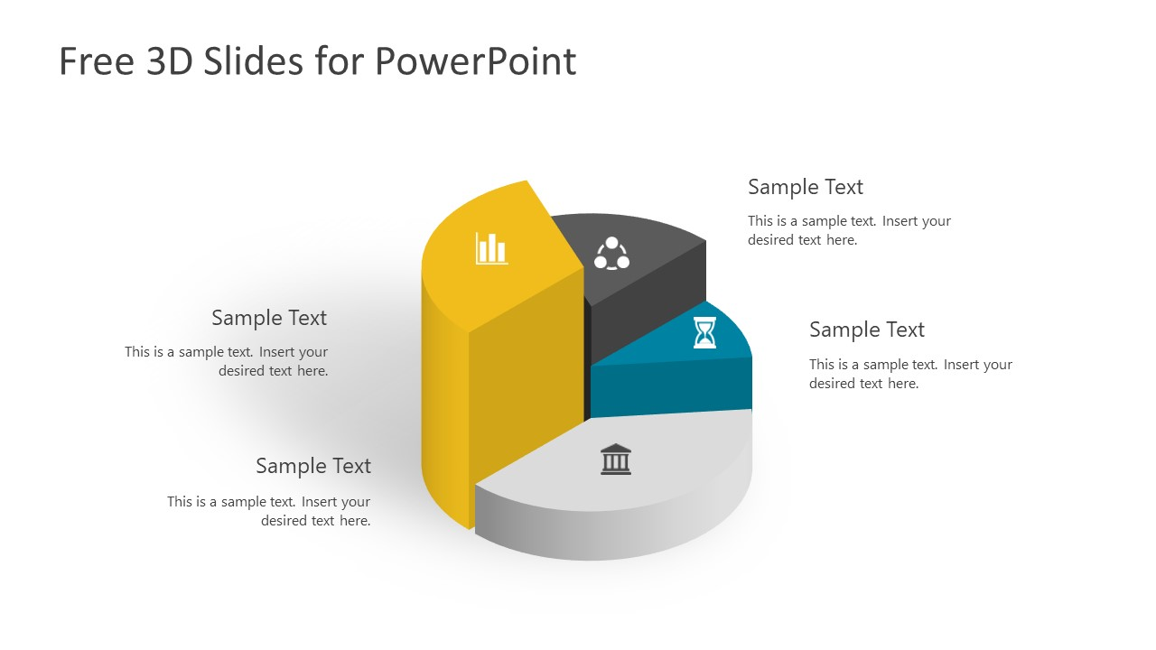 free 3d infographic slides for powerpoint slidemodel