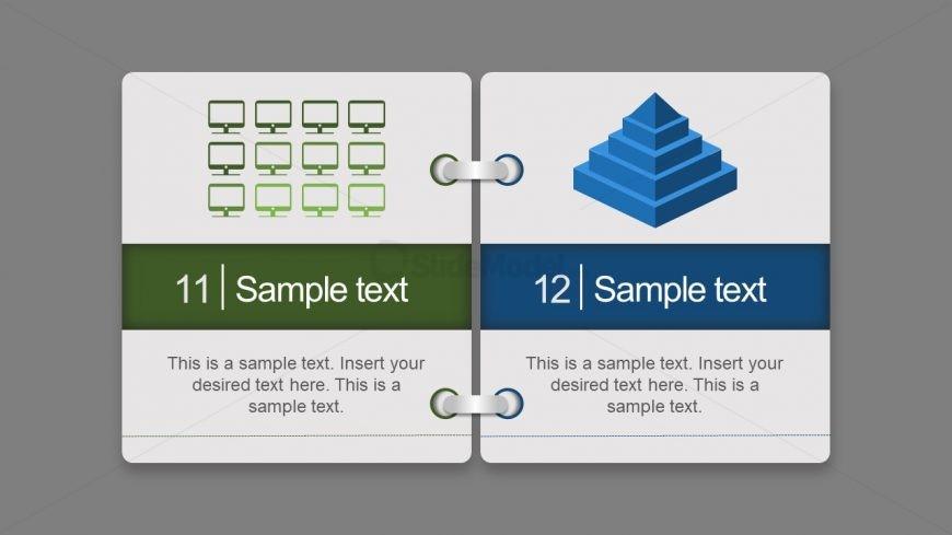 Information Recording Cards Slide